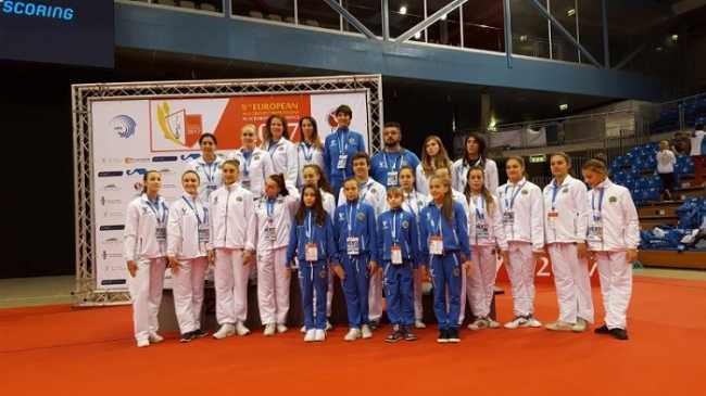 2017 Europei Delegazione italiana