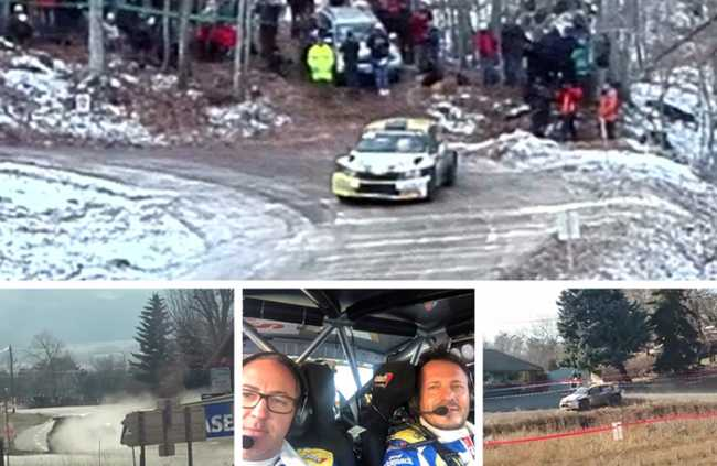 caffoni neve montecarlo rally mix