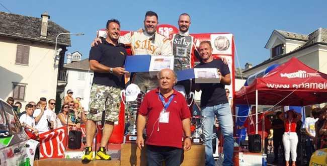crugnola caffoni podio rally 17