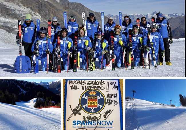 nazionale sci spagnola vigezzo