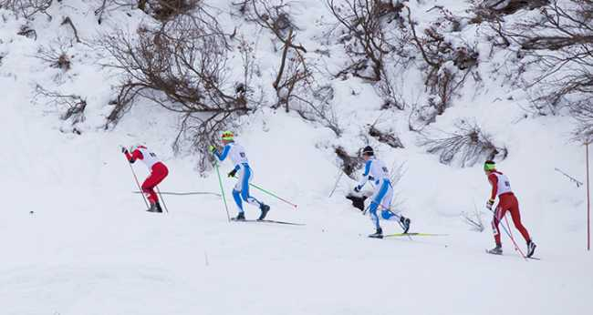 sci fondo Campionati Regionali al via Foto Framarini